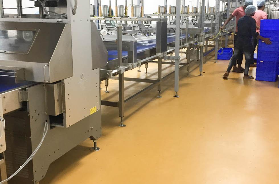 Industrial Flooring, Decorative Resin Floors & Hygienic PU Resins