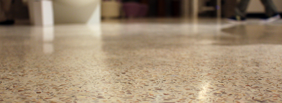 Mondéco Seamless Terrazzo Flooring Resin Flooring