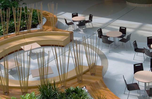Flowcrete Mondéco Seamless Terrazzo Timeless Flooring For