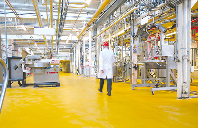 Hygienic Flooring Solutions for the Food Industry 01