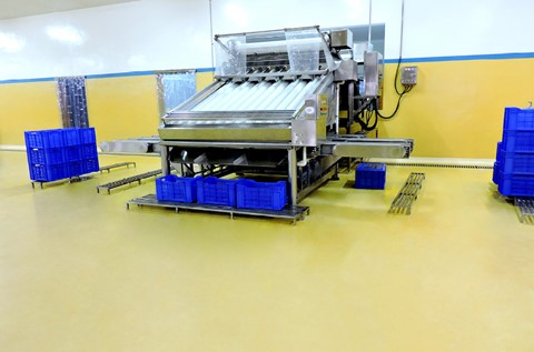 Flowcrete Makes Waves in Seafood Processing Flooring Project